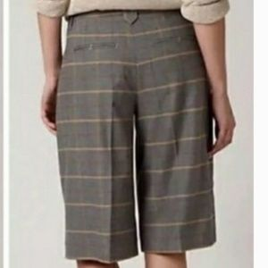 Anthropologie Shorts - Plaid Pleated Bermuda Short by Cartonnier[Anthro]